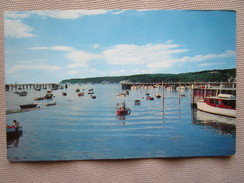 Port Jefferson, Long Island, N.Y. This Excellent Sheltered Deepwater Harbor Is A Favorite Rendez-vous For Local And..... - Long Island