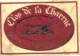 1522 - Suisse - Clos De La Charrue - Prop. A. Hermanjat - Commugny - Labels