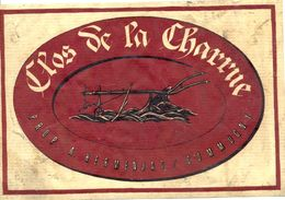 1522 - Suisse - Clos De La Charrue - Prop. A. Hermanjat - Commugny - Etiquettes