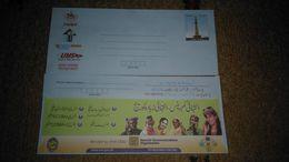 "PAKISTAN Rs 8 Postal Stationery Letter Envelop ""SCO Telecom Add Azad Jammu & Kashmir And Gilgit Baltistan"" (RARE ITEM) - Pakistan"