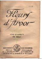 Fleurs D'Arvor, 1939, Revue Jeunesse Catholique Féminine Diocèse De RENNES (35) Ille Et Vilaine, 32 Pages - Religion