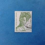 REPUBLIQUE DU SENEGAL FRANCOBOLLO USATO STAMP USED - COSTUMI LOCALI 50 - Senegal (1960-...)