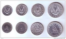Albania 1957 4-coins Set - Albania
