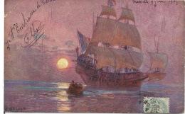 CPA VOILIER  1905 - Segelboote