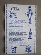 Souvenir Of Time Was Village Museum. US 51, 4 Mi. South Of Mendota, Illinois. Little Boy Blue By Eugene Field. - Etats-Unis