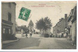 63/ PUY De DOME...SAINT JEAN Des OLLIERES. Place De L'Eglise - Frankrijk