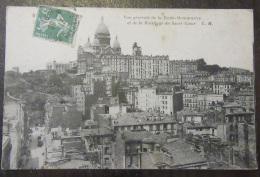 Paris - Vue Générale De La Butte-Montmartre Et De La Basilique - Timbre YT N°137 - Cachet 1913 - France