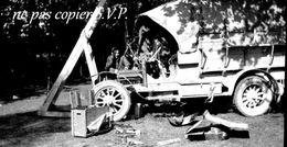 Guerre 14-18 AVIATION REPARATION D UNE VOITURE Négatif Pris Par Militaire Escadrille VB 110  MONTDIDIER 1915 - 1914-18