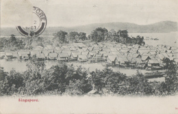 Singapour - Singapore - View - Postmarked 1907 - Singapore