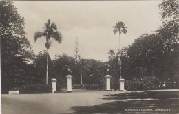 Singapour - Singapore - Entrance Of Botanical Garden - Singapour