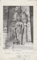 Laos - Sculpture - Haut Relief - Postmarked Cap Saint-Jacques 1912 - Laos