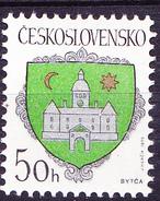 Tschechoslowakei CSSR - Wappen Von  Bytca  (MiNr. 3043) 1990 - Postfrisch MNH - Tchécoslovaquie