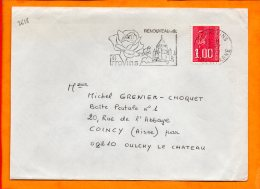 SEINE ET MARNE, Provins, Flamme SCOTEM N° 2618 - Marcofilie (Brieven)