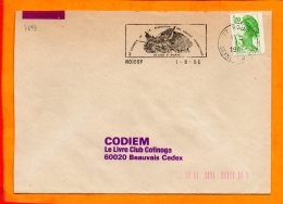 SEINE ET MARNE, Roissy, Flamme SCOTEM N° 7693 - Marcophilie (Lettres)
