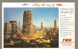 Buvard? TWA Along The Way Of TWA - Transports