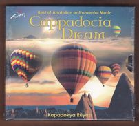 AC -  CAPPADOCIA DREAM BEST OF ANATOLIAN INSTRUMENTAL MUSIC BRAND NEW TURKISH MUSIC CD - World Music