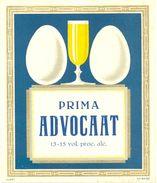 1526 - Pays Bas - Prima Advocaat - 13 - 15 Vol. Proc. Alc. - Etiquettes