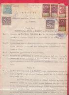 8K50 / Pleven Plewen Plevene Statute Breweries Brewery - Revenue Fiscaux Steuermarken Bulgaria Bulgarie Bulgarien - Historical Documents