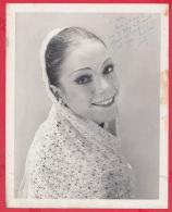 8K68 / AUTOGRAPH - Evelyn Anne Hart , Principal Dancer , Photo David Cooper , Canada's Royal Winnipeg Ballet , Canada - Autographes