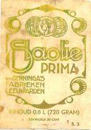1529 - Pays Bas - Slaolie Prima - N.V. Benninga's Fabrieken Leeuwarden - Etiquettes