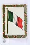 1900's Cigarette Trading Card/ Chromo - WWI Flag Of Mexico - Cigarette Cards