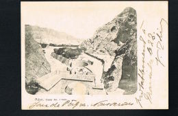 ADEN -JORDANIE - Camp N° 1 Tank - Voyagée 1903  Recto Verso-  Paypal Sans Frais - Jordan