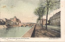 Laval 53 (451) Vue De La Prison Du Vieux Ponts Et Des Quais - Laval