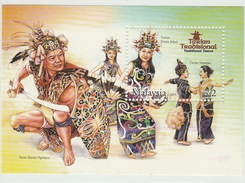 MALAYSIA 2005 TRADITIONAL DANCE SG MS1258 MINT MNH - Malaysia (1964-...)