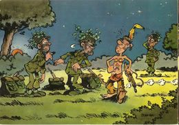CP  Des Militaires Se Camouflent ! - Jean-Pol -1975 - Camouflage - Comics