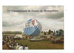 18042 -  11e Championnat De France De Montgolfière Le Gonflage La Ferté-Bernard - Montgolfières