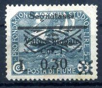 1921 FIUME N.20 * - 8. Occupazione 1a Guerra