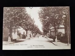 CPA D21 Saulieu, Avenue De La  Gare - Saulieu