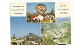 18045 -  Anniversaire Du Bi-centenaire Des Montgolfières Le Puy Arlempdes 1783-1983 - Montgolfières