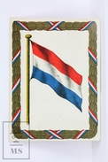 1900's Cigarette Trading Card/ Chromo - WWI Flag Of Netherlands/ Holland - Cigarette Cards