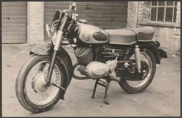 Motorrad Zündapp 200S, C.1960 - Mimosa Foto-AK - Motorbikes