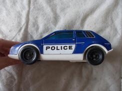 Joustra Voiture Police En Tôle Et Plastique Made In France - Oud Speelgoed