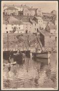 The Harbour, Mevagissey, Cornwall, C.1940s - Photochrom Postcard - England