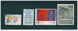 France  Timbres  De 1993  N°2795  A  2798    Oblitéré - Usati