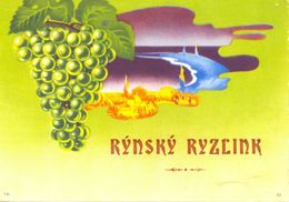 1535 - Tchécoslovaquie - Rynsky Ryzlink - Labels