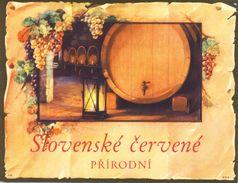 1538 - Tchécoslovaquie - Slovenské Cervené - Prirodni - Etiquettes