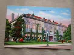 Public Library, Galesburg, Illinois. Kropp 27391 - Etats-Unis