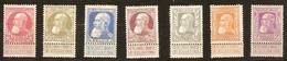 Belgie Belgique 1905 OCBn° 74-80 (*) MLH Cote 510,00 Euro - 1905 Thick Beard