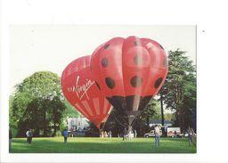 18057 - Montgolfière Virgin Et Coccinelle Balloons Over Basingstoke - Montgolfières
