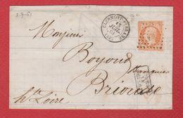 Facture / De Clermont Ferrand /  Pour Brionde    / 13 Juillet 1861 - 1849-1876: Klassik