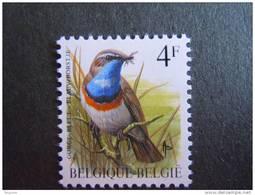 België Belgique Belgium 1989 Oiseaux Buzin Blauwborstje Gorge Bleue Typo 2321Nov Yv 2321 MNH ** - 1985-.. Birds (Buzin)