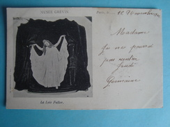 Artiste - La Loë Fuller Au Musée Grévin - 1902 - Danse