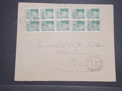 ALGERIE FRANçAISE - Env D'Ain Beida Pour Paris Joliment Affranchie - Oct 1946 - P22069 - Algérie (1924-1962)