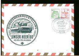 GERMANY - BUNDESWEHR - HOCHHEIM AM MAIN - PANZER LEOPARD - CARRO ARMATO - [7] República Federal