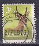 Malawi, 1971 - 3t Reedbuck - Nr.150 Usato° - Malawi (1964-...)