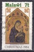 Malawi, 1984 - 7t Christmas, Duccio - Nr.454 Usato° - Malawi (1964-...)